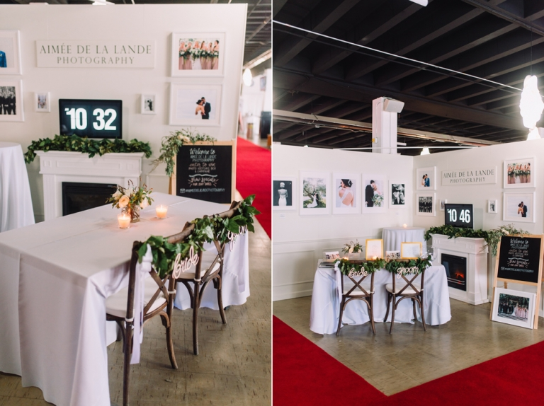 Exhibition Booth Photography : Wedding show booth » aimeedelalande.photography